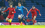 James Tavernier zips up the wing