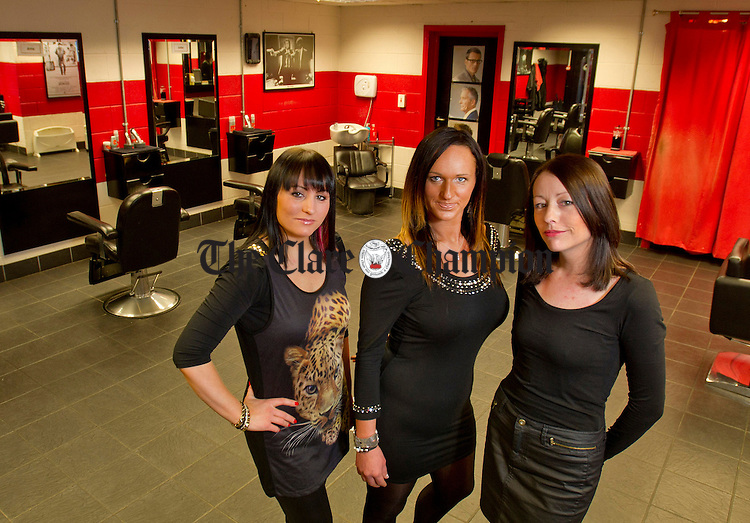 Linda Malone, Anna Lewandowska and Julie Guilfoyle. Photograph by Declan Monaghan