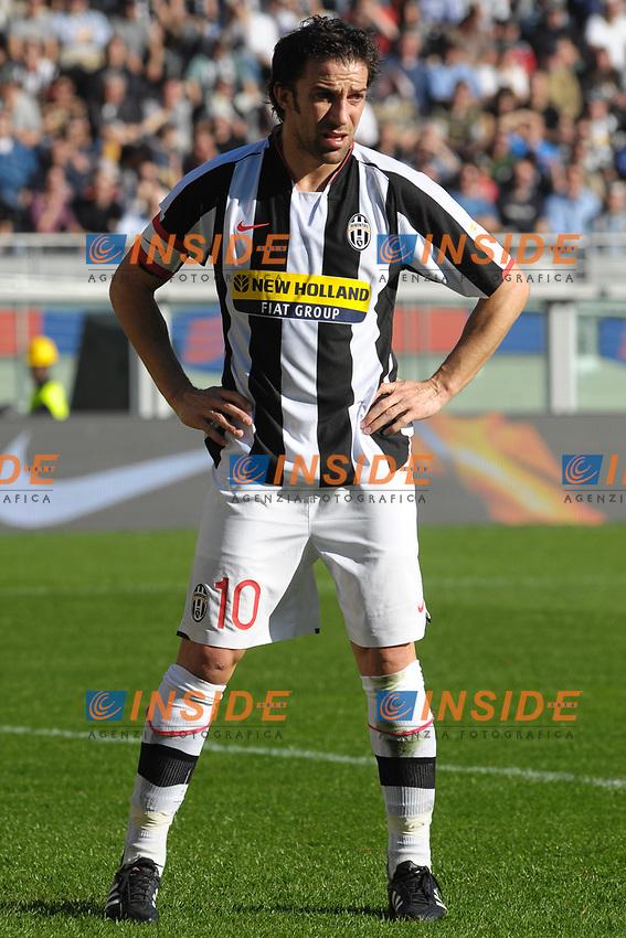 TORINO 02-03-2008 Stadio &quot;Olimpico&quot;<br /> Campionato Italiano Serie A<br /> JUVENTUS-FIORENTINA 2-3 <br /> <br /> Alessandro Del Piero (Juventus) <br /> Foto Massimo Insabato/Insidefoto