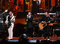 LOS ANGELES - JANUARY 24: Jonas Brothers perform on the 2020 MusiCares Person of the Year tribute concert honoring Aerosmith on January 24, 2020 in Los Angeles, California. (Photo by Frank Micelotta/PictureGroup)
