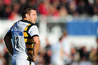 Jimmy Gopperth of Wasps looks on during a break in play. Aviva Premiership match, between Saracens and Wasps on October 9, 2016 at Allianz Park in London, England. Photo by: Patrick Khachfe / JMP