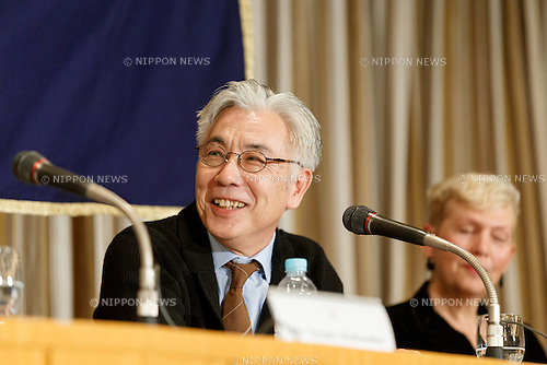 Issey Ogata, actor of the film SILENCE (Chinmoku) attends a press conference at the Foreign Correspondents' Club of Japan on January 12, 2017, Tokyo, Japan. The Japanese cast of the film attended the news conference after a special screening function at Kadokawa Cinema in Yurakucho. The film is directed by Martin Scorsese and hits Japanese theaters on January 21. (Photo by Rodrigo Reyes Marin/AFLO)