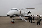 March 30, 2012, Narita, Japan - Gulfstream G550, business jet aircraft of Gulfstream aerospace Corporaton is seen at Narita International Airport on March 30, 2012. (Photo by Motoo Naka/AFLO) [4018]