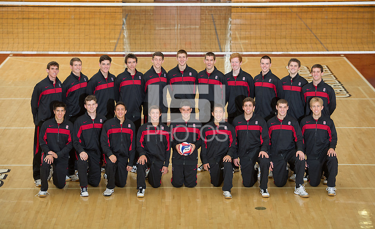 Stanford, Ca-Friday, Dec. 2, 2010: Stanford Men's Volleyball Team Photos.