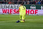 01.12.2018, Weser Stadion, Bremen, GER, 1.FBL, Werder Bremen vs FC Bayern Muenchen, <br /> <br /> DFL REGULATIONS PROHIBIT ANY USE OF PHOTOGRAPHS AS IMAGE SEQUENCES AND/OR QUASI-VIDEO.<br /> <br />  im Bild<br /> <br /> entt&auml;uscht / enttaeuscht / traurig /<br /> Jiri Pavlenka (Werder Bremen #01)<br /> <br /> Foto &copy; nordphoto / Kokenge