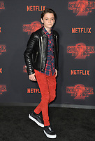 Noah Schnapp at the premiere for Netflix's &quot;Stranger Things 2&quot; at the Westwood Village Theatre. Los Angeles, USA 26 October  2017<br /> Picture: Paul Smith/Featureflash/SilverHub 0208 004 5359 sales@silverhubmedia.com