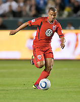 CARSON, CA – June 3, 2011: DC United forward Charlie Davies (9) during the match between LA Galaxy and DC United at the Home Depot Center in Carson, California. Final score LA Galaxy 0, DC United 0.