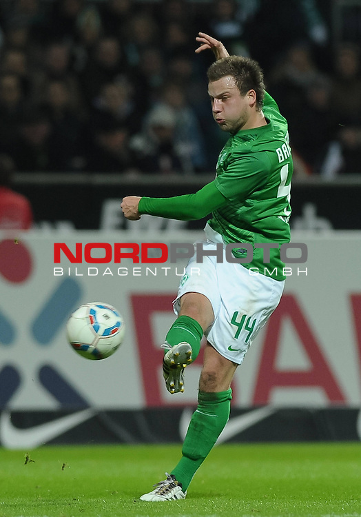 25.02.2012, Weserstadion, Bremen, GER, 1.FBL, Werder Bremen vs 1. FC N&uuml;rnberg / Nuernberg, im Bild Philipp Bargfrede (Bremen #44)<br /> <br /> // during the match Werder Bremen vs 1.FC Nuernberg on 2012/02/25, Weserstadion, Bremen, Germany.<br /> Foto &copy; nph / Frisch *** Local Caption ***