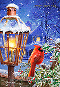 Marcello, CHRISTMAS ANIMALS, WEIHNACHTEN TIERE, NAVIDAD ANIMALES, paintings+++++,ITMCXM2159A,#xa# ,cardinal,cardinals