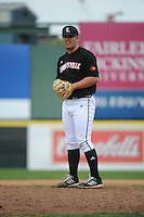University of Louisville Cardinals pitcher Brandon Alphin (28) during a game against the Temple University Owls at Campbell's Field on May 10, 2014 in Camden, New Jersey. Temple defeated Louisville 4-2.  (Tomasso DeRosa/ Four Seam Images)