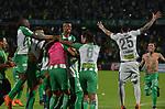 Atlético Nacional igualó 0-0 ante Atlético Huila (0-0 en el global y 4-2 por penales). Semifinales vuelta Liga Águila I-2018.