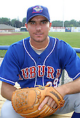 July 4, 2003:  Pitcher Jeremy Harper (29) of the Auburn Doubledays, Class-A affiliate of the Toronto Blue Jays, during a game at Dwyer Stadium in Batavia, NY.  Photo by:  Mike Janes/Four Seam Images