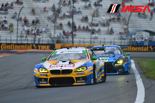 IMSA WeatherTech SportsCar Championship<br /> Sahlen's Six Hours of the Glen<br /> Watkins Glen International, Watkins Glen, NY USA<br /> Sunday 2 July 2017<br /> 96, BMW, BMW M6 GT3, GTD, Justin Marks, Jens Klingmann<br /> World Copyright: Richard Dole/LAT Images<br /> ref: Digital Image RD_WGI_17_454