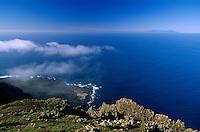 Spanien, Kanarische Inseln, El Hierro, Blick vom Mirador de Bascos = Mirador de El Rincon