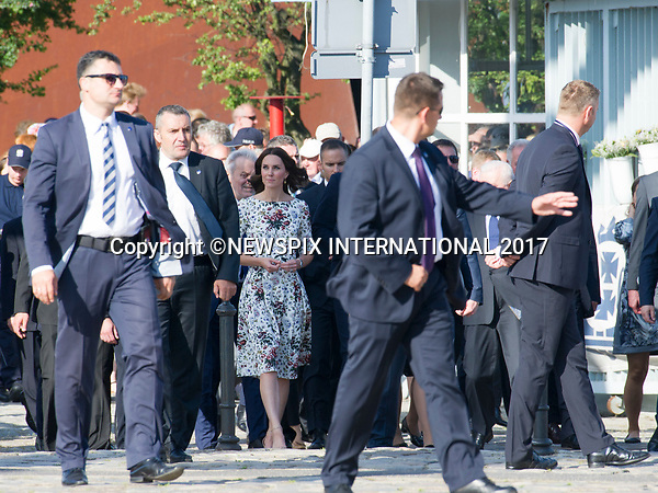 18.07.2017; Gdansk, Poland: DUKE AND DUCHESS OF CAMBRIDGE<br />