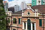 Old Pathological Institute (formerly known as the Bacteriological Institute) was opened in 1906.  It was Hong Kong's first purpose-built public health and medical laboratory.