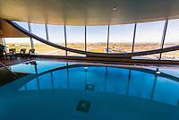 Indoor swimming pool, Westin Denver International Airport Hotel, Denver, Colorado USA.