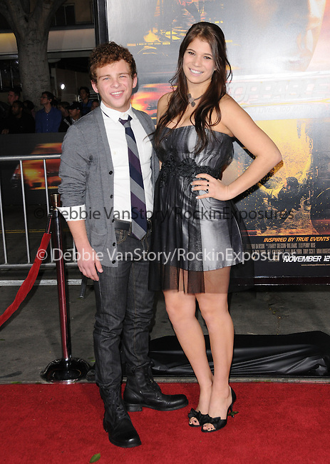 Katelyn Pippy and Jonathan Lipnicki attends the Twentieth Century Fox's L.A. Premiere of Unstoppable held at Regency Village Theater in Westwood, California on October 26,2010                                                                               © 2010 Hollywood Press Agency