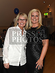 Paula Maguire and Lorna McKena at Karen Coogan's 21st birthday in the Thatch. Photo:Colin Bell/pressphotos.ie