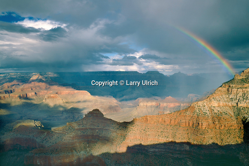 Rainbow over Yaki Point<br />