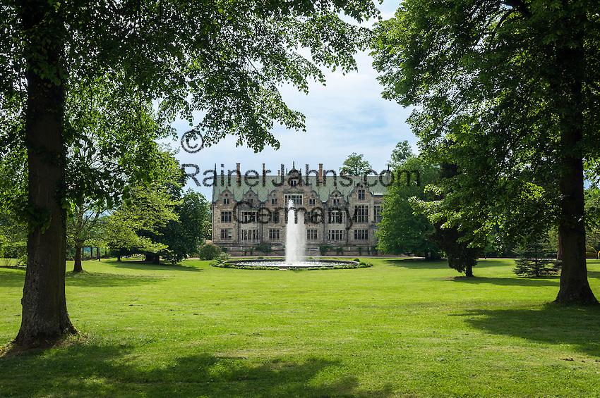 Germany; Free State of Thuringia, near Bad Liebenstein: Altenstein Palace and Park   Deutschland, Freistaat Thueringen, bei Bad Liebenstein: Schloss Altenstein und Altensteiner Park