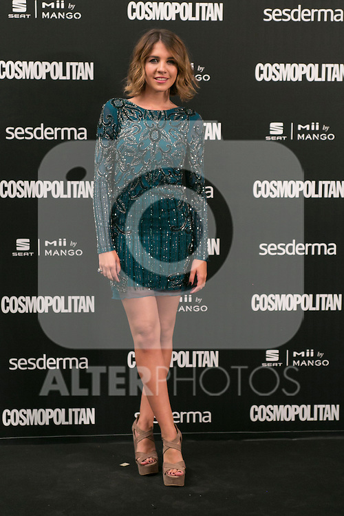 Andrea Guas attend the photocall of the Cosmopolitan Fun Fearless Female 2014 Awards at the Ritz Hotel in Madrid, Spain. October 20, 2014. (ALTERPHOTOS/Carlos Dafonte)
