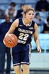 22 November 2016: Charleston Southern's Breannah Bretches. The University of North Carolina Tar Heels hosted the Charleston Southern University Buccaneers at Carmichael Arena in Chapel Hill, North Carolina in a 2016-17 NCAA Women's Basketball game. UNC won the game 93-77.