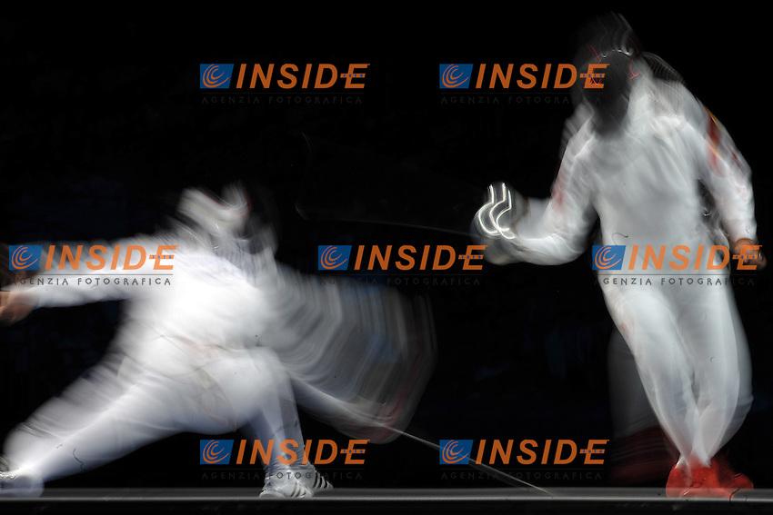 Ghosts/Fantasmi .Women Team EPEE .London 04-08-2012.Olympic Games Fencing London 2012 . Foto Giovanni Minozzi.