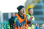 Team manager of Kilmoyley, Fergie O Loughlin at the Gaelic Grounds, Limerick<br /> <br /> Photo: Oisin McHugh True Media