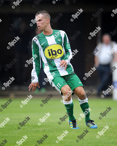 2012-07-15 / Voetbal / seizoen 2012-2013 / Racing Mechelen / Megan Laurent..Foto: Mpics.be