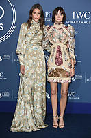 Charlotte Wiggins and Sam Rollinson<br /> arriving for the 2018 IWC Schaffhausen Gala Dinner in Honour of the BFI at the Electric Light Station, London<br /> <br /> ©Ash Knotek  D3437  09/10/2018