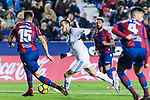 Gareth Bale of Real Madrid (C) in action during the La Liga 2017-18 match between Levante UD and Real Madrid at Estadio Ciutat de Valencia on 03 February 2018 in Valencia, Spain. Photo by Maria Jose Segovia Carmona / Power Sport Images