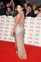 Cara de la Hoyde at the National TV Awards 2017 held at the O2 Arena, Greenwich, London. <br /> 25th January  2017<br /> Picture: Steve Vas/Featureflash/SilverHub 0208 004 5359 sales@silverhubmedia.com
