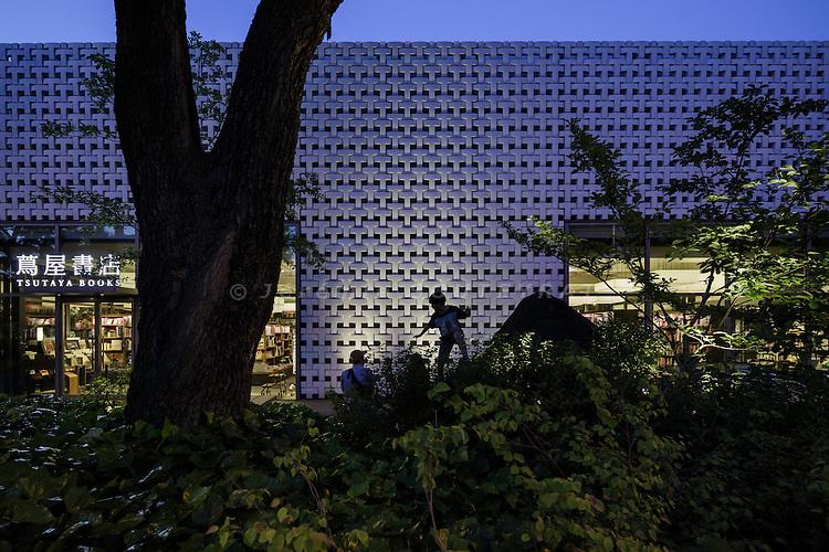 Tokyo, May 13 2015 - Tsutaya Daikanyama bookshop by Japan-based architects Klein & Dytham Architects.