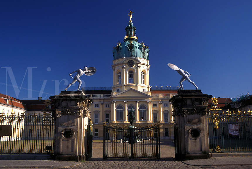 Charlottenburg Castle, Berlin, Germany, Europe, Schloss Charlottenburg
