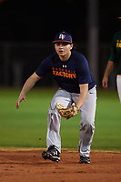 Saul Gonzalez (50), from Monroe, Washington, while playing for the Astros during the Under Armour Baseball Factory Recruiting Classic at Gene Autry Park on December 27, 2017 in Mesa, Arizona. (Zachary Lucy/Four Seam Images)