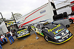Feb 06, 2011; 5:24:39 PM; Gibsonton, FL., USA; The Lucas Oil Dirt Late Model Racing Series running The 35th annual Dart WinterNationals at East Bay Raceway Park.  Mandatory Credit: (thesportswire.net)