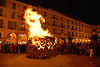 Festival of Saint Sebastian - bonfire at Plaza Mayor<br /> <br /> Fiesta de San Sebastián (cat.: Sant Sebastià) - fuego en la Plaa Mayor<br /> <br /> Sankt Sebastian Fest - Feuer auf der Plaza Mayor<br /> <br /> 3872 x 2592 px<br /> 150 dpi: 65,57 x 43,89 cm<br /> 300 dpi: 32,78 x 21,95 cm