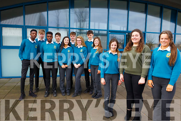 Mercy Mounthawk launch the Family Week at the school on Monday last and it will take place in the school from March 5th to the 9th. <br /> Front l-r, Molly O&rsquo;Keeffe, Karen O&rsquo;Carroll (Teacher) and Sarah Healy.<br /> Back l-r, Larry Adebayo, Keevan McElligott, Mick Izehi, Michael Moynihan, Isabelle Crowe, Luke Doherty, Meavh McElligott, Louie Burne and Niamh Ryan.
