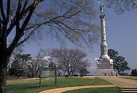 AJ3339, Yorktown, Colonial National Historic Park, Virginia, Yorktown Monument to Alliance and Victory at the Yorktown Battlefield in Yorktown in the state of Virginia.