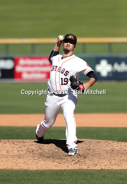 Dean Deetz - Mesa Solar Sox - 2017 Arizona Fall League (Bill Mitchell)