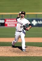 Dean Deetz - Mesa Solar Sox - 2017 Arizona Fall League (Bill Mitchell)