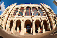 The Romantic style  Vigado Concert Hall (Vigadó) designed by Frigyes Feszl, Budapest, Hungary