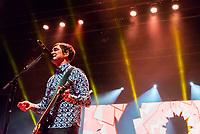 SÃO PAULO, SP, 01.09.2018 - SHOW-SP - Samuel Rosa, cantor e guitarrista da banda Skank durante show na noite deste sábado, 01, no Credicard Hall em São Paulo.(Foto: Anderson Lira/Brazil Photo Press)
