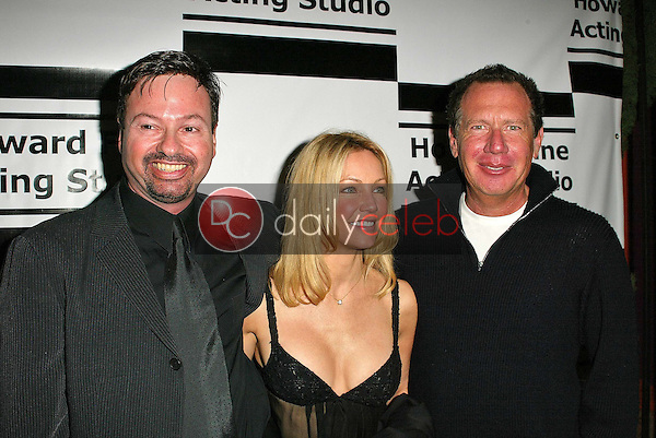Howard Fine, Heather Locklear and Gary Shandling