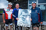 'Iron Man' Mike Murphy's relations at the Memorial Cycle in Cahersiveen on Saturday were l-r; Derek O'Shea, Kieran McCarthy & Mike O'Shea.