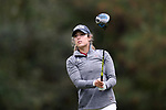 CHAPEL HILL, NC - OCTOBER 13: South Carolina's Marion Veysseyre (FRA) on the 11th tee. The first round of the Ruth's Chris Tar Heel Invitational Women's Golf Tournament was held on October 13, 2017, at the UNC Finley Golf Course in Chapel Hill, NC.