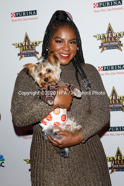 LOS ANGELES - FEB 29:  Ester Dean at the Beverly Hills Dog Show Presented by Purina at the LA County Fairplex on February 29, 2020 in Pomona, CA