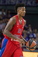 CSKA Moscu Will Clyburn during Turkish Airlines Euroleague match between Real Madrid and CSKA Moscu at Wizink Center in Madrid, Spain. October 19, 2017. (ALTERPHOTOS/Borja B.Hojas) /NortePhoto.com