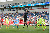Bridgeview, IL - Sunday June 04, 2017: Haley Kopmeyer during a regular season National Women's Soccer League (NWSL) match between the Chicago Red Stars and the Seattle Reign FC at Toyota Park.